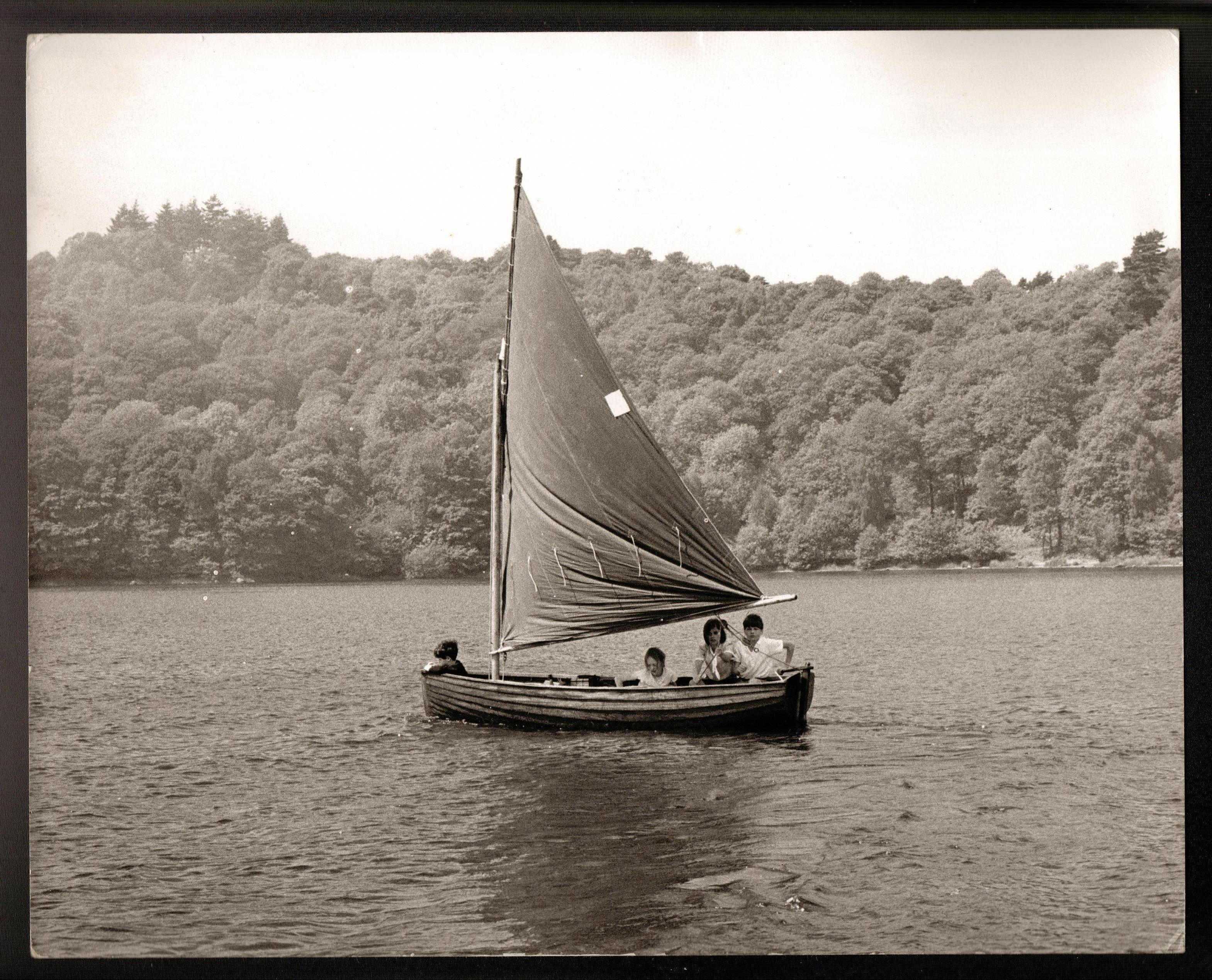 The Swallows on their voyage to Wildcat Island