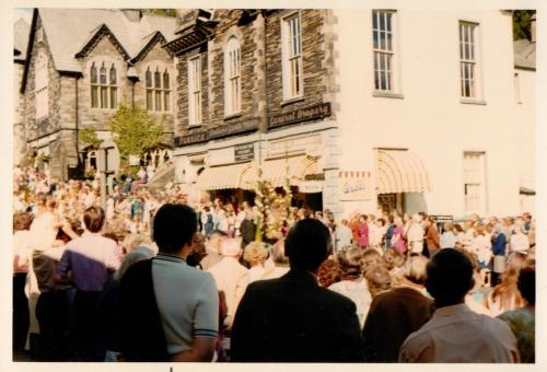 Ambleside Rush Bearing Christian Ceremony