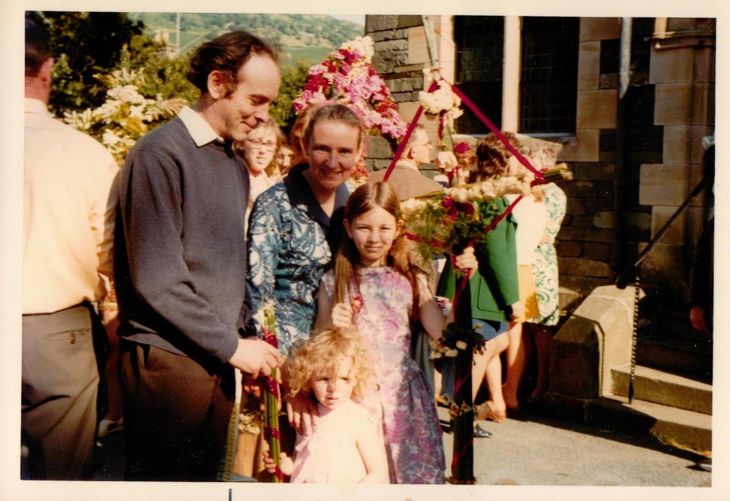 The Price Family of Oaklands Guest House in Ambleside, Cumbria