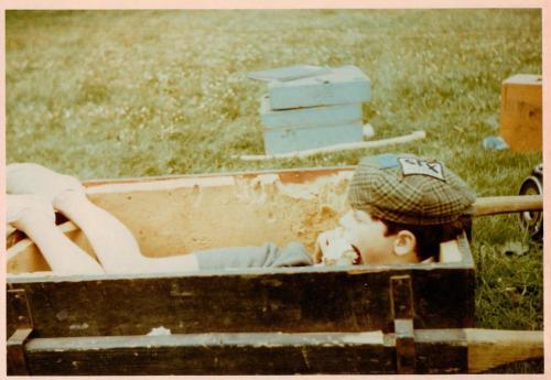 Sten Grendon in the camera box