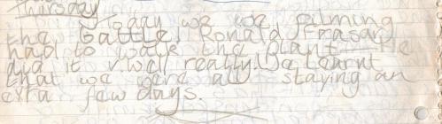 Suzanna's Diary