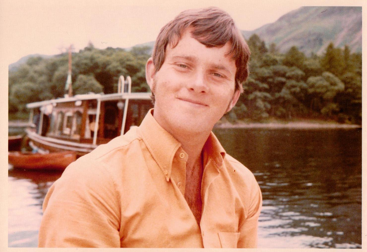 A boatman working on Derwent Water in 1973