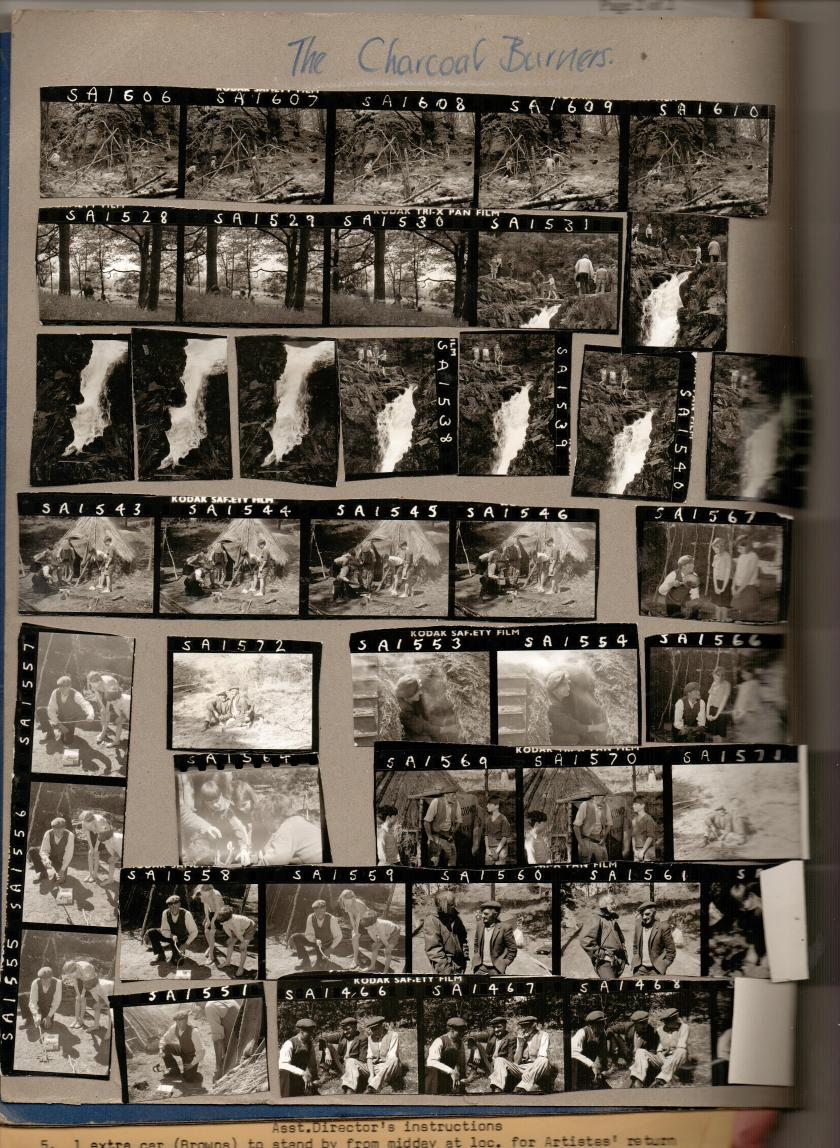The Real Charcoal Burners a contact sheet