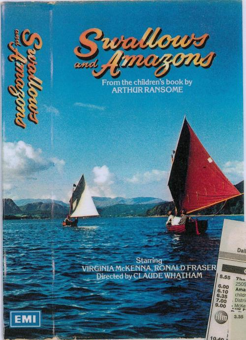 'Swallows and Amazons' on VHS