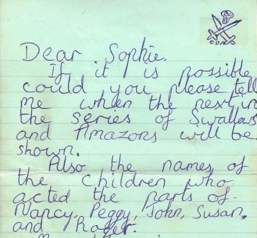 A fan letter