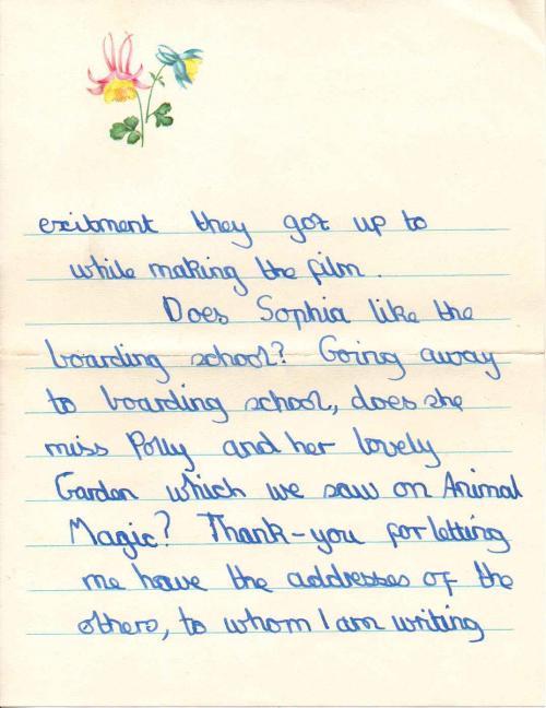 A fan letter3