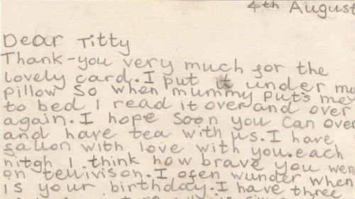 A fan letter74