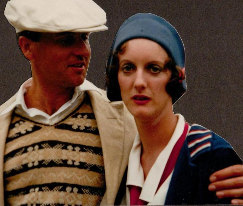 John Harding with Sarah Crowden ~ photo: Sophie Neville