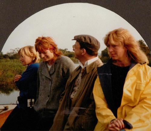 Mary Soan, Susannah Buxton, Sam Kelly and Penny Fergusson in 1983