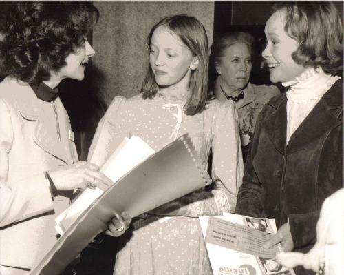 Jan Leeming, Sophie Neville and Daphne Neville