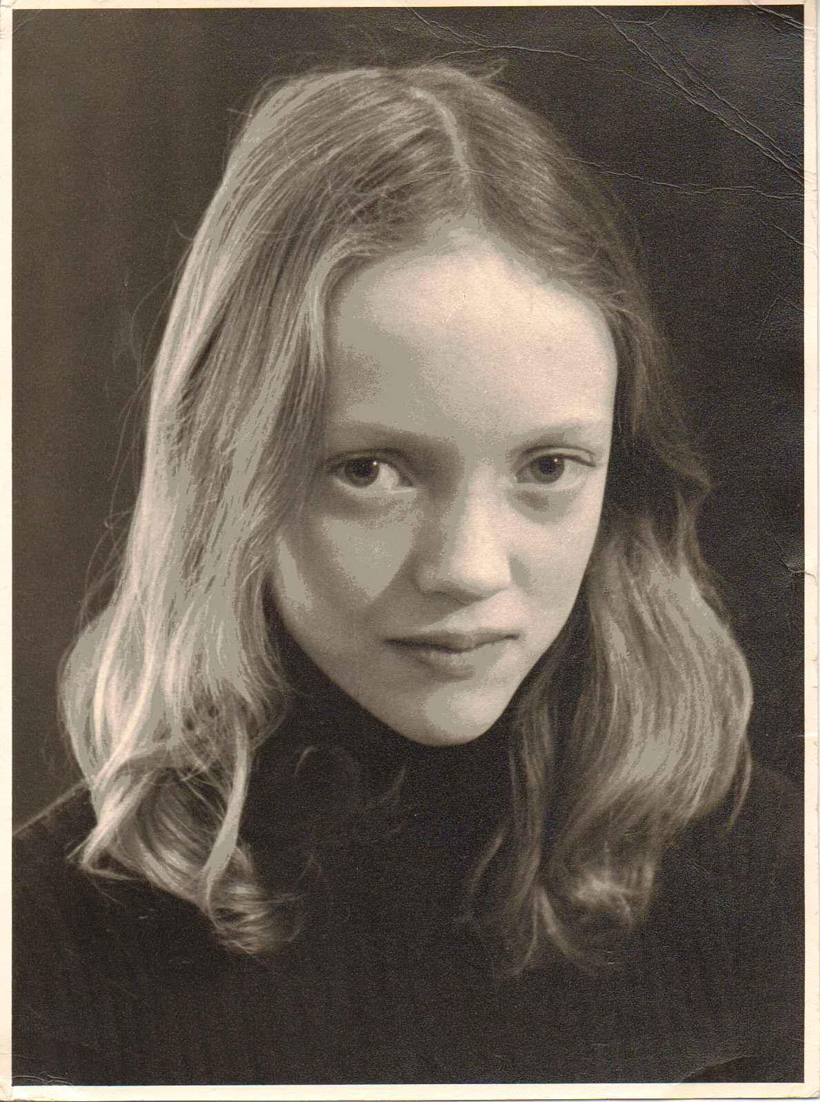 Sophie Neville in 1976
