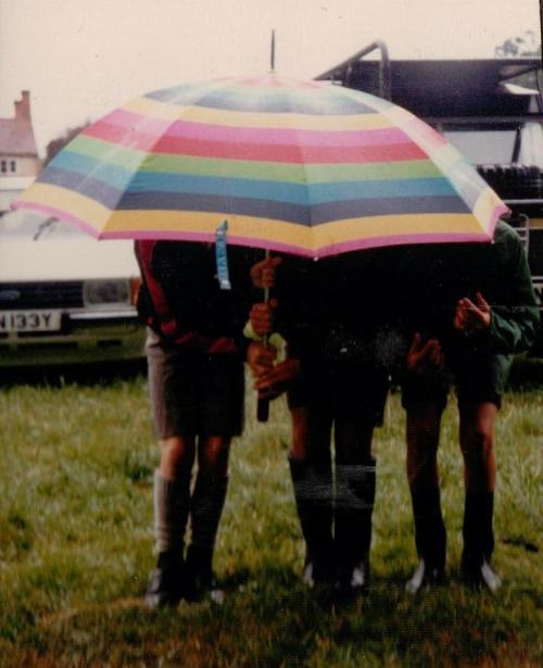 Coot Club - boys in the rain1