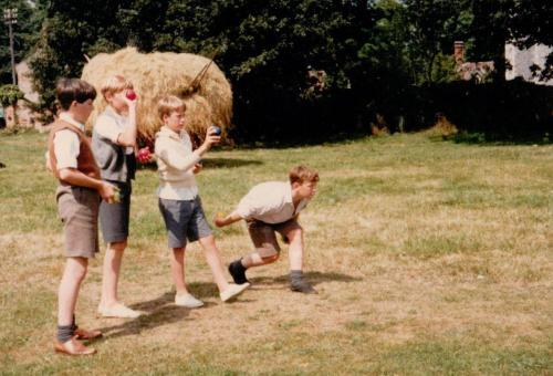 Coot Club - boys playing boule