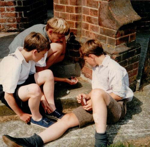Coot Club - boys playing