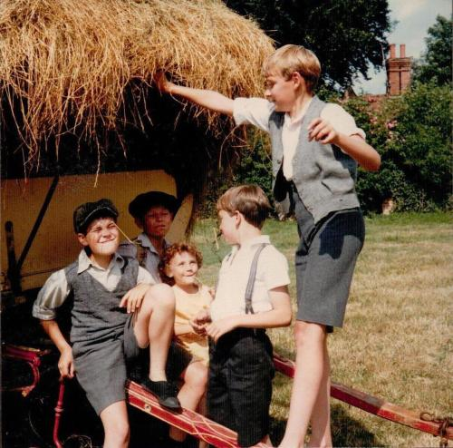 Coot Club - the hay wagon