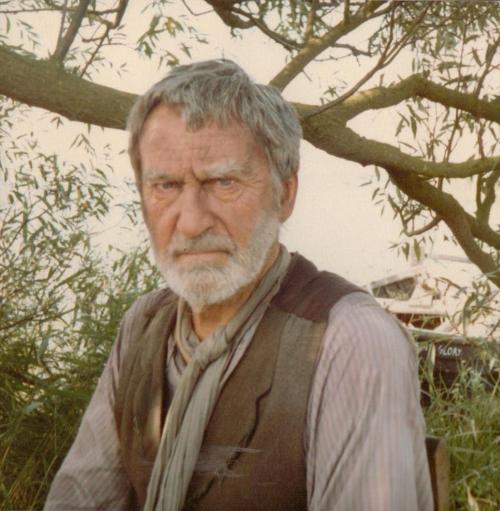Patrick Troughton as the eel man