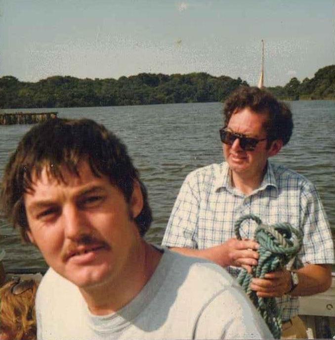 Coot Club - local boatmen