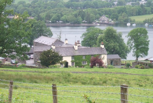 Bank Ground FArm above Coniston Water in Cumbria