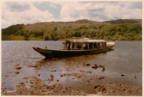The Gondola on Coniston Water in 1973 ~ photo: Martin Neville