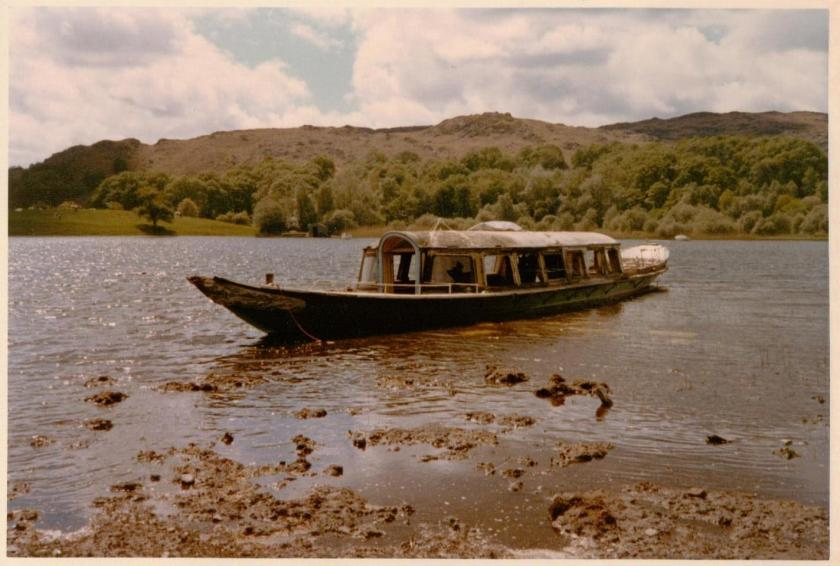 The Gondola on Coniston Water in 1973 ~ photo: Martin Neville