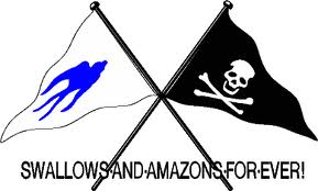 Swallows and Amazons flags