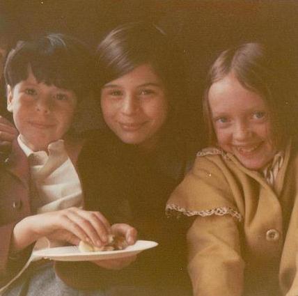 Sten Grendon, Suzanna Hamilton and Sophie Neville ~ photo: Daphne Neville