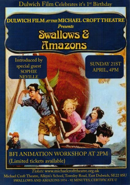 Swallows Poster April 2013