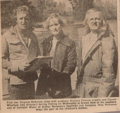 Local article on Swallows and Amazons written in 1973