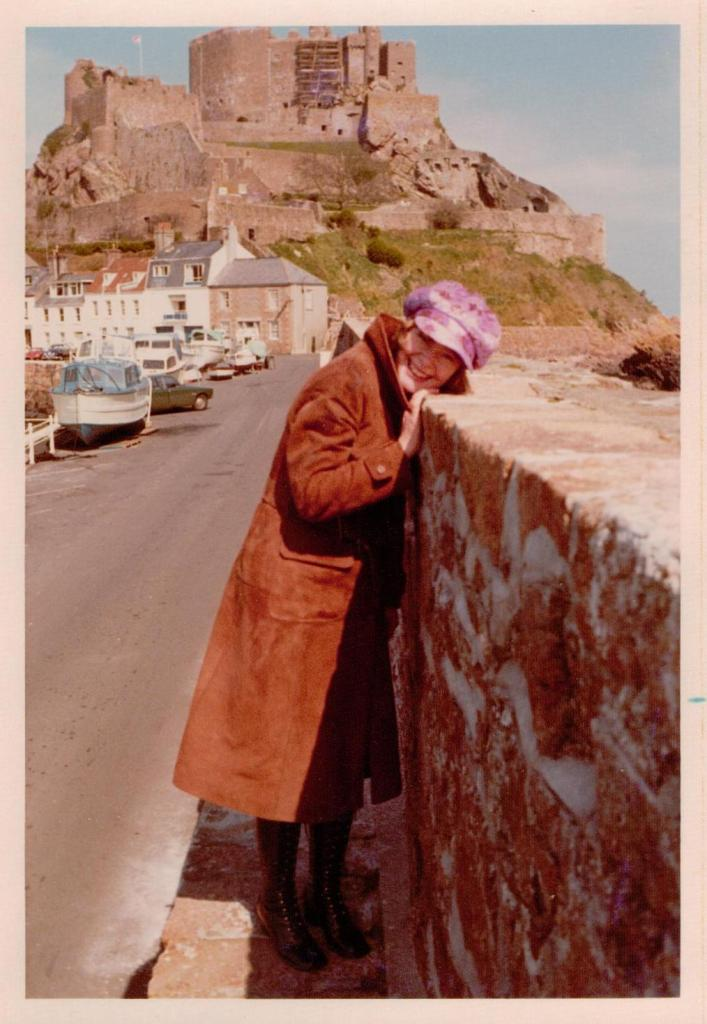Daphne Neville in her Donny Osmond hat