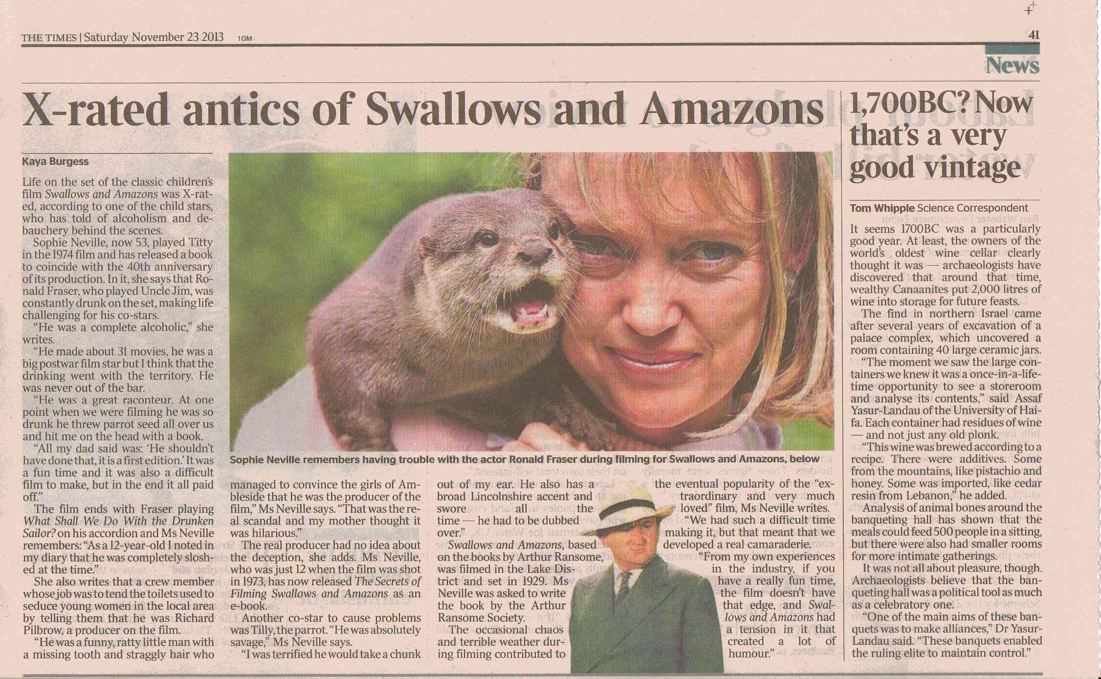 The Times Sat 23 Nov 20131