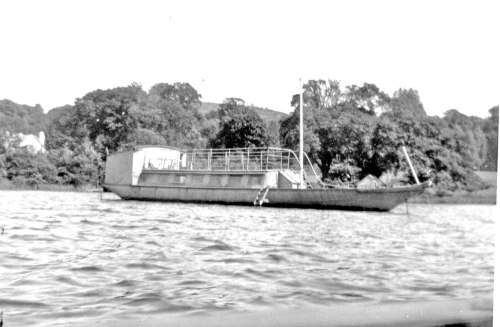 'Esperance' in the 1930s when she was owned by Sir Oliver Scott.
