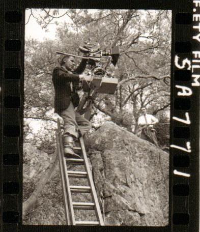 BW Filming on Peel Island