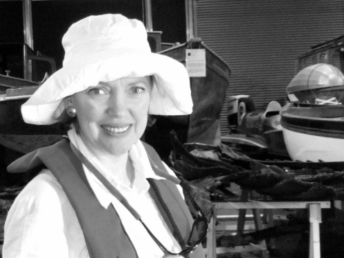 Sophie Neville at the Windermere Steamboat Museum