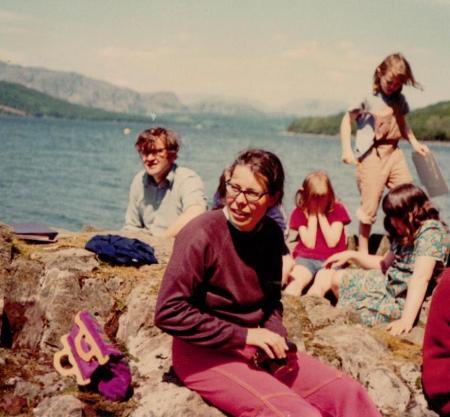 Jane Grendon opposite Peel Island