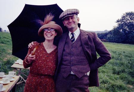Jane Grendon with Martin Neville
