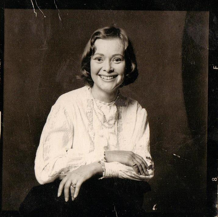 Daphne Neville in about 1973