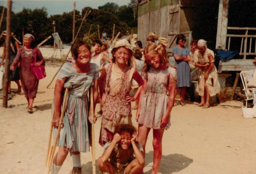 Children appearing in 'Tenko'
