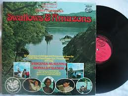 LP of Swallows and Amason with vinyl record