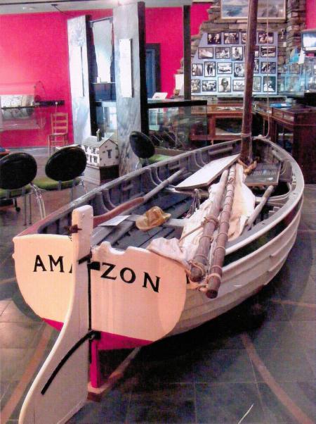 Amazon, originally known as Mavis, now rsiding at the Coniston Museum