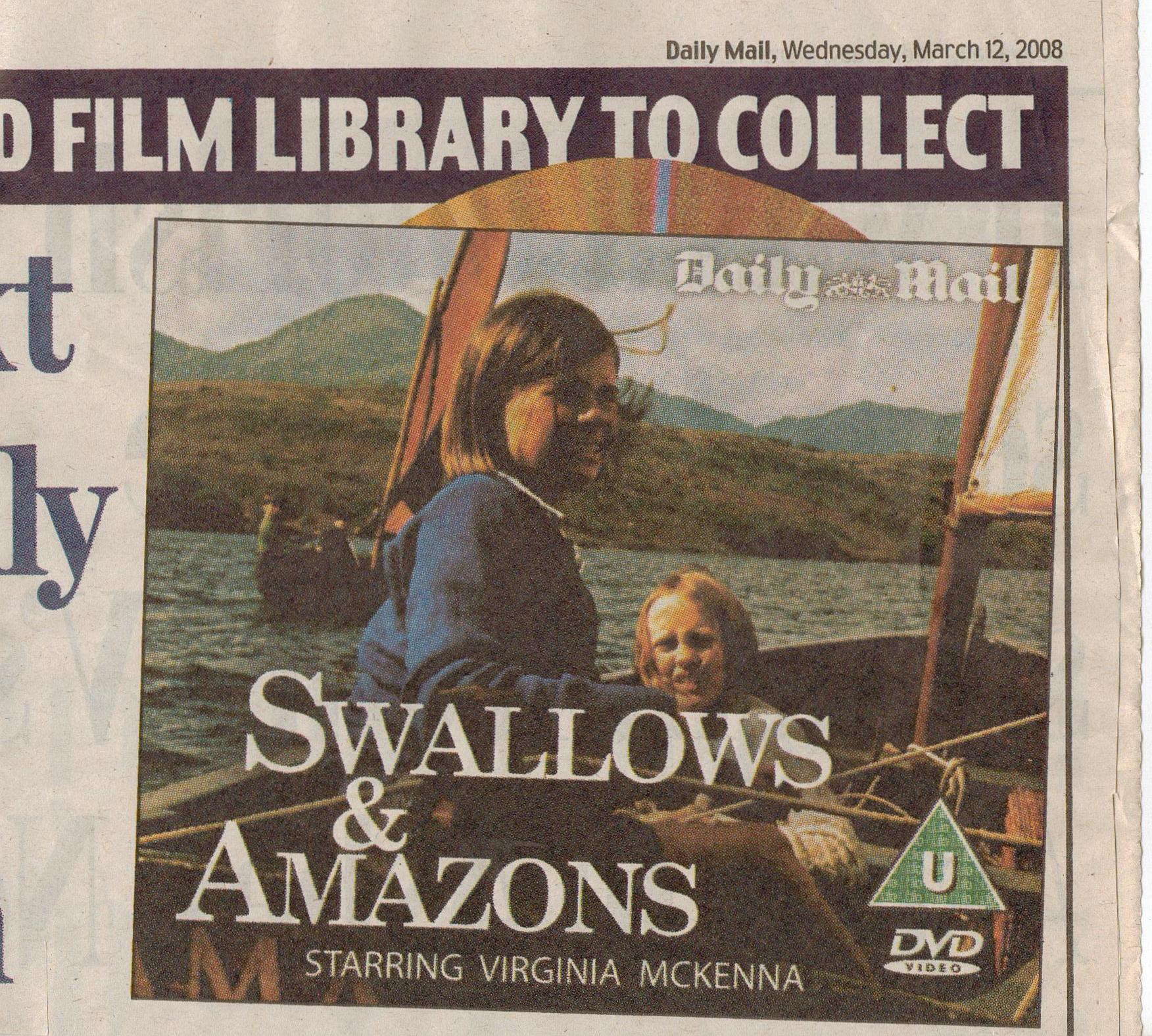 Swallows and Amazons DVD | Sophie Neville