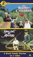 Swallows and Amazons and Railway Chidlren VHS