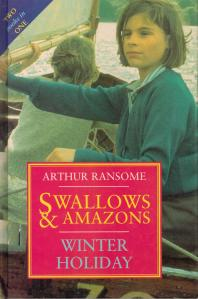 'Swallows and Amazons' book cover 1992