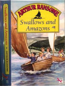 Swallows and Amazons book cover by Red Fox
