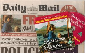Swallows and Amazons Daily Mail DVD
