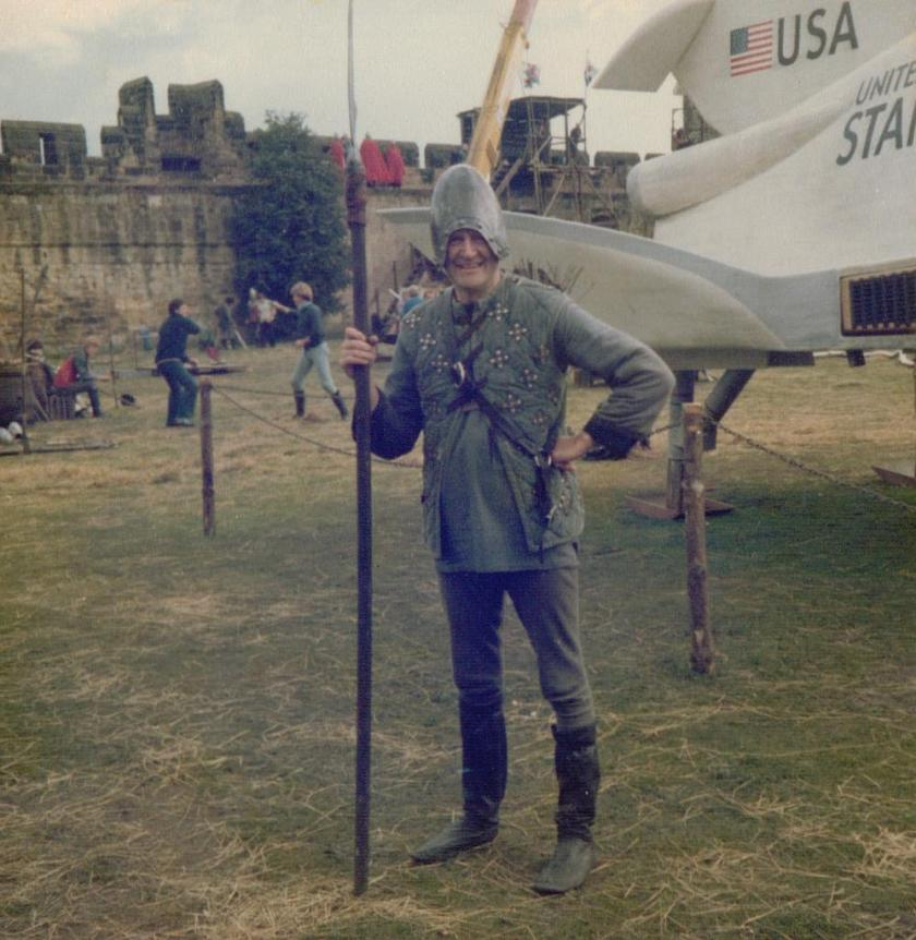 Filming 'King Arthur and the Spaceship'1