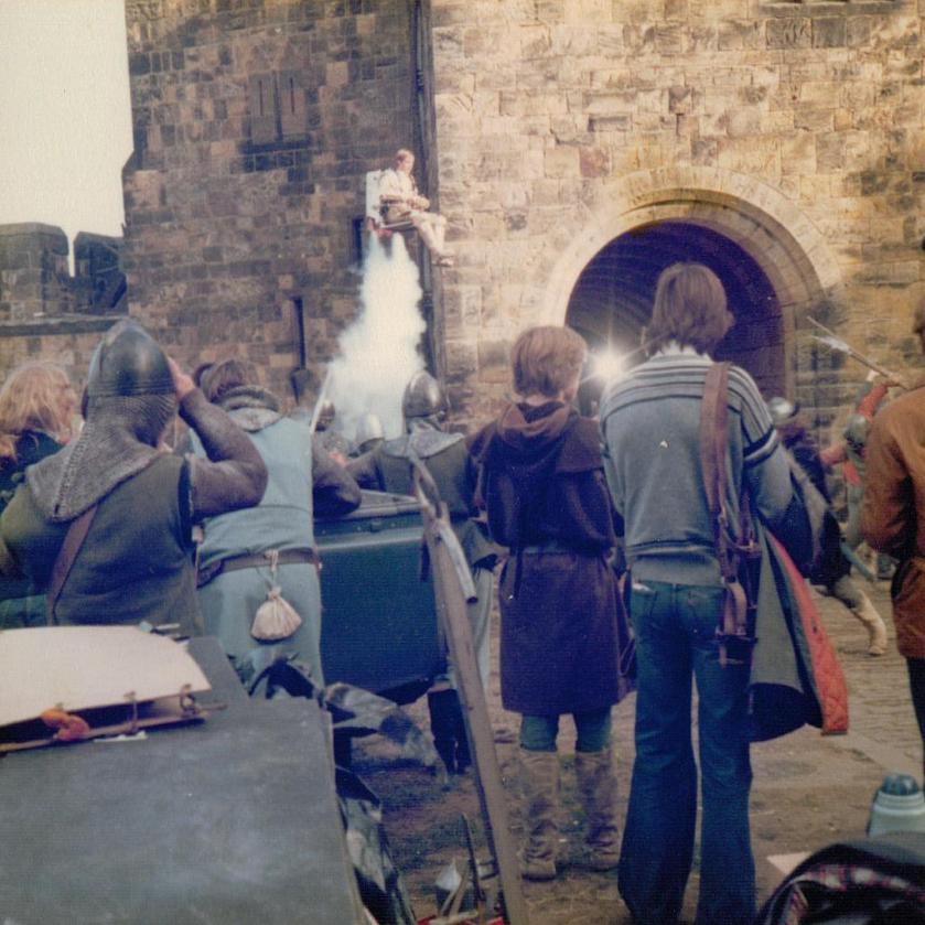Filming 'King Arthur and the Spaceship'2