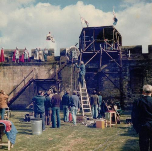 Filming 'King Arthur and the Spaceship'3