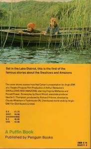 Swallows and Amazons ~ Puffin edition, 1984