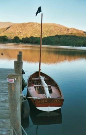 Amazon on Coniston 2003