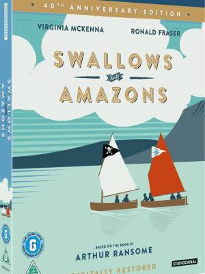 Best DVD of Swallows and Amazons starring Virginia McKenna
